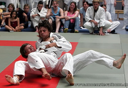 Judo - hier in der Sporthalle des Pascal-Gymnasiums.